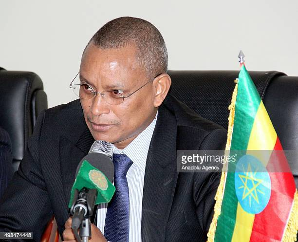 Deputy Prime Minister of Ethiopia Debretsion Gebremichael and Hasabo Mohamed Abdul Rahman the vice president of Sudan participate in the activities...