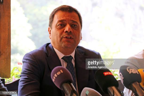 Deputy Prime Minister of Macedonia responsible for economic affairs and coordination with the economic sectors Koco Angjushev meets British Minister...