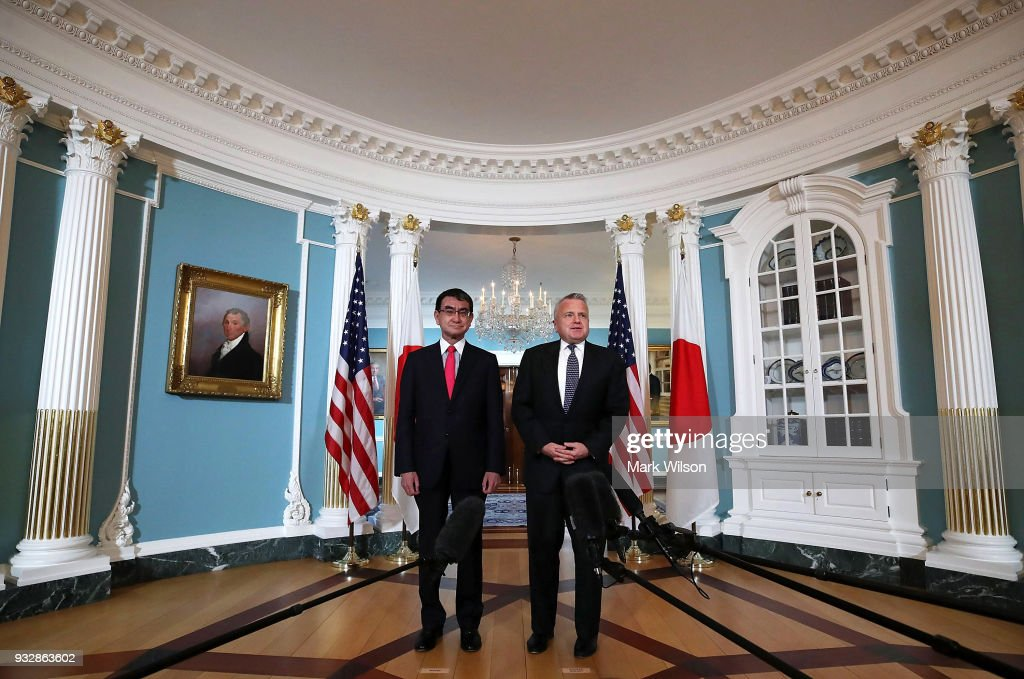 Deputy Secretary Of State John Sullivan Meets With Japanese Foreign Minister