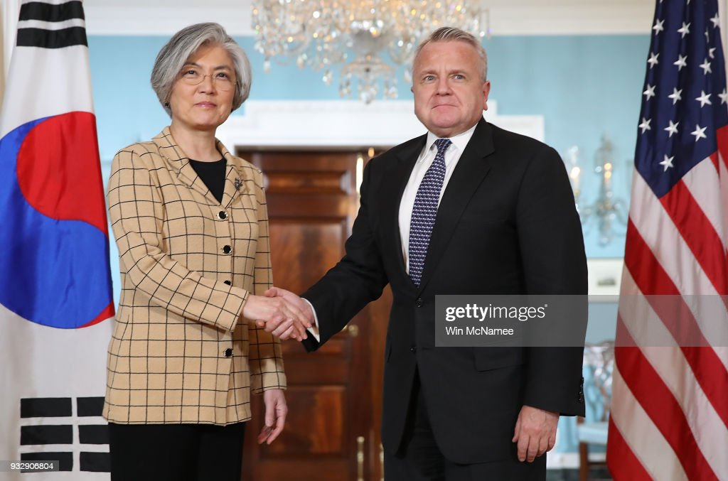 Deputy Secretary Of State John Sullivan Meets With S. Korean Foreign Minister