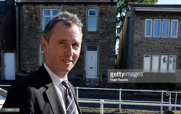 Deputy Speaker Nigel Evans returns to his home after being arrested on suspicion of three further offences of indecent assault on June 19 2013 in...