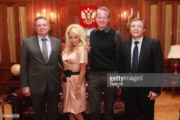 Deputy Trade Representative Timofey S Borodin Head of the New York Office of the Trade Representation of the Russian Federation to the USA PETA...