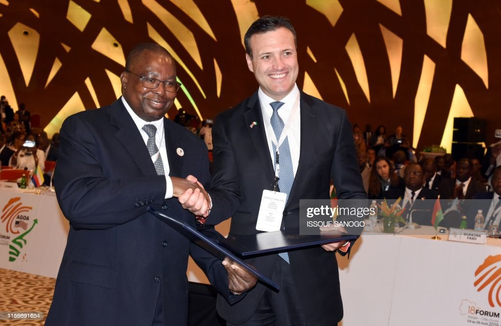 ICOAST-AFRICA-US-TRADE-AGOA : News Photo