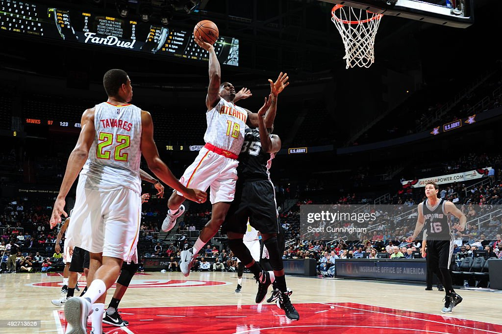 San Antonio Spurs v Atlanta Hawks