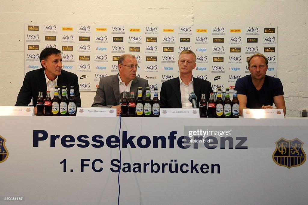 1. FC Saarbrücken trennt sich von Luginger : News Photo