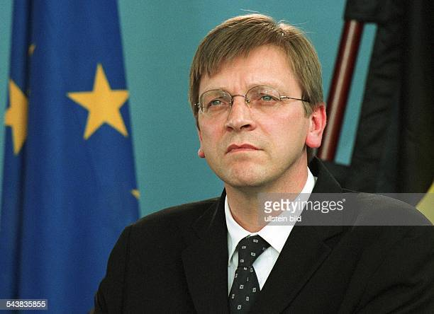 Der belgische Premierminister Guy Verhofstadt