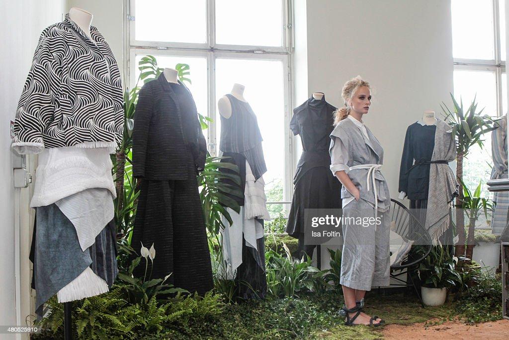 Der Berliner Modesalon on July 10, 2015 in Berlin, Germany.