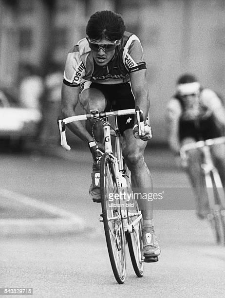 Der Bremer Radrennfahrer Andreas Kappes während einer Etappe bei der Tour de France Aufgenommen um 1990