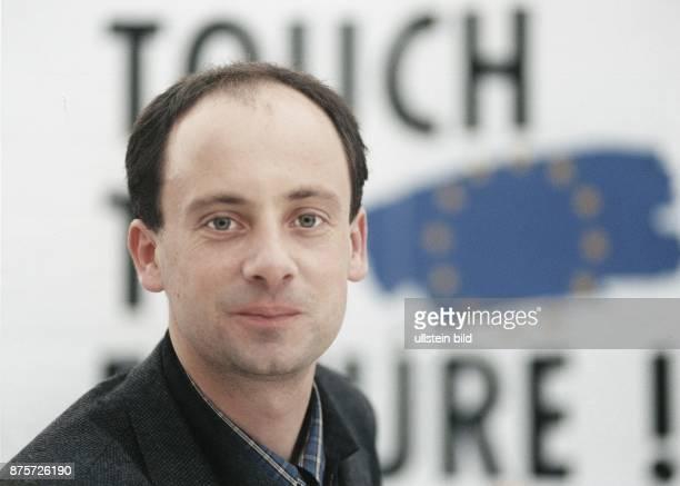 Der Bundesvorsitzende der Jungen Union und Angestellte der Deutschen Bank Klaus Escher im Oktober 1997 Aufgenommen Oktober 1997