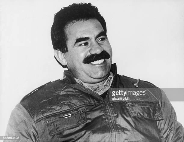 Der Chef der PKK Abdullah Öcalan Aufgenommen September 1991