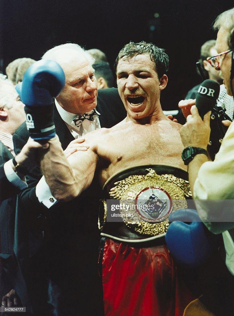 Bott, Markus / Boxweltmeister im Cruisergewicht 1993 : Nieuwsfoto's