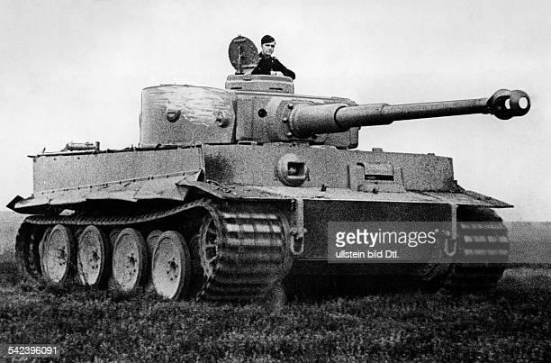 der deutsche Panzer 'Tiger'um 1943veröffentlicht DAZ