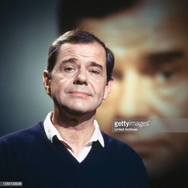 Der deutsche Schauspieler Walter Giller, Deutschland 1970er Jahre.