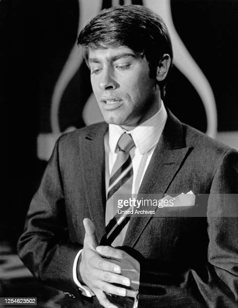 Der deutsche Schlagersänger Roy Black, Deutschland 1960er Jahre.