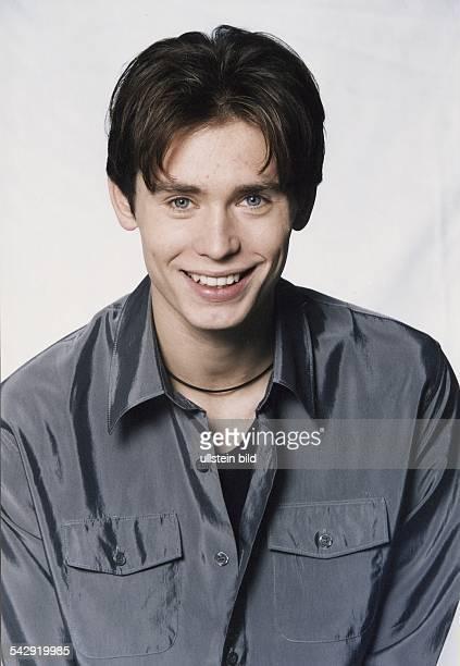 Der deutsche TVSchauspieler Andreas Stenschke Aufgenommen November 1999