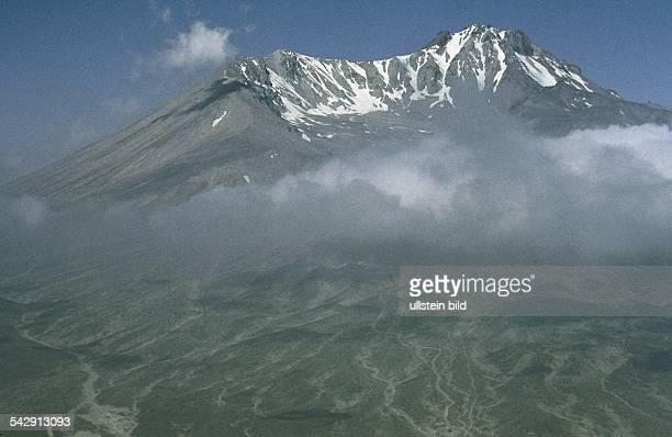Der erloschenen Vulkan Erciyas Dag , der höchste Berg in der Zentraltürkei. Durch seine Erruptionen und die damit verbundene Ablagerung gewaltiger...