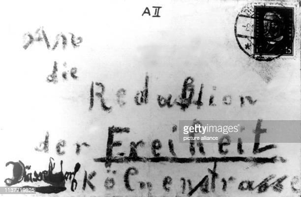 Der erste an die Redaktion der Arbeiter Zeitung adressierte Mörderbrief Am 22 April 1931 wurde Peter Kürten wegen Mordes in neun Fällen und weiteren...
