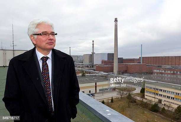 Der Geschaeftsfuehrer Henry Cordes steht in den Energiewerken Nord GmbH Durch die EWN werden seit 1995 die ehemaligen DDRKernkraftwerke Greifswald...