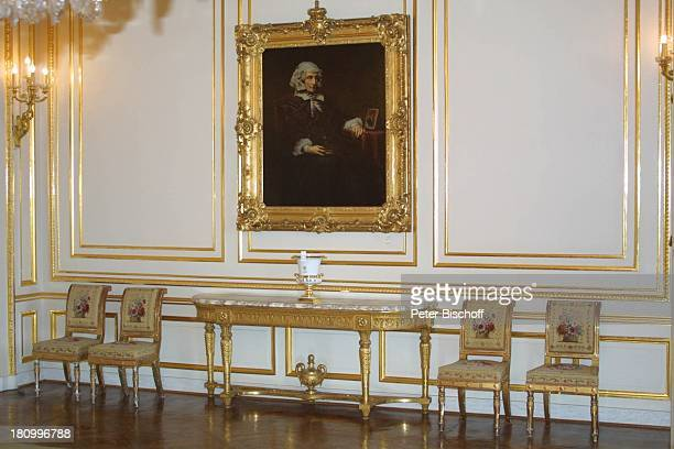 Der Große Weiße Salon Belgischer Königspalast Brüssel/Belgien Europa Königshaus Stuhl Gemälde Palast Reise
