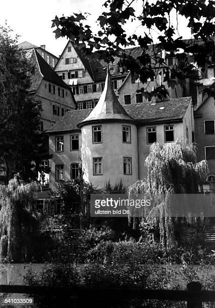 Der Hölderlinturm in Tübingen WohnungHs bis zu seinem Tode 1955