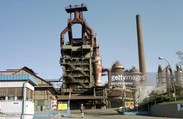 Der Hochofen des Stahlunternehmens Neue Maxhütte ist Wahrzeichen der oberpfälzischen Stadt SulzbachRosenberg Elf Jahre nach der Pleite der...