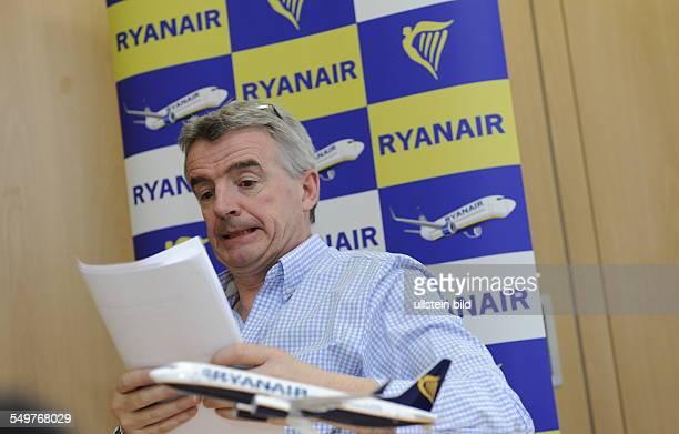 Der irische Geschäftsmann und Vorsitzender CEO der Billigfluggesellschaft Ryanair Michael O'Leary