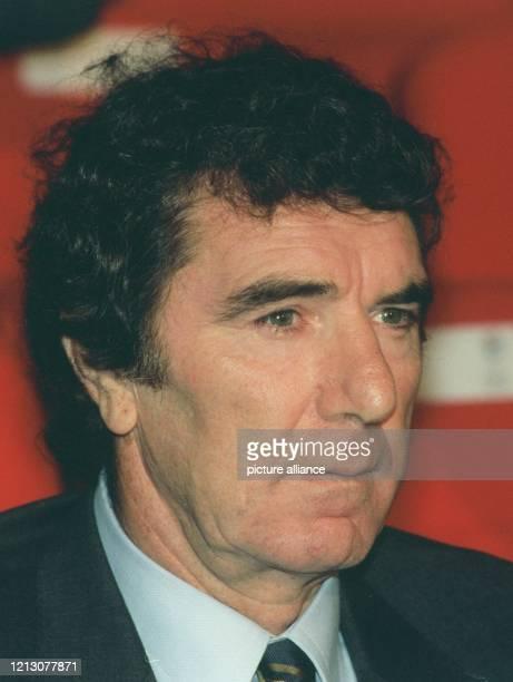 Der italienische Fußballnationaltrainer Dino Zoff, aufgenommen am in Brüssel. Zoff war in seiner aktiven Zeit für Udinese, Juventus Turin und im...