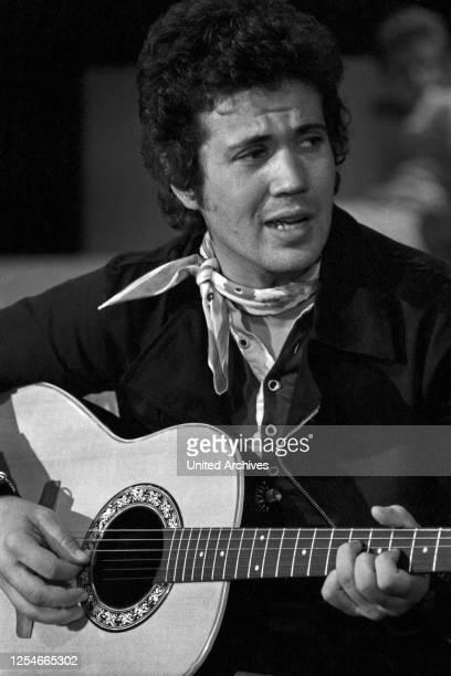 Der italienische Komponist und Cantautore Lucio Battisti, Deutschland 1970er Jahre.