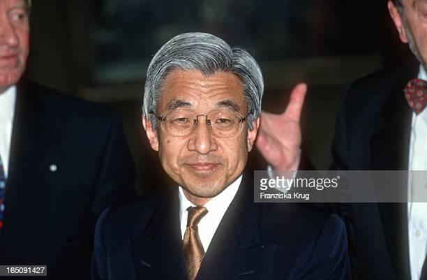 Der Japanische Kaiser Akihito In München