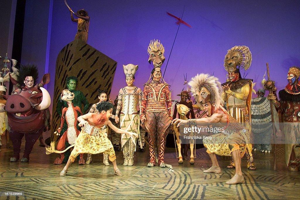 König Der Löwen Musical Zazu