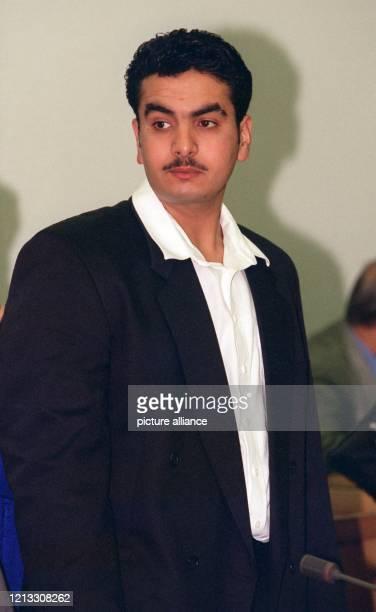 Der Libanese Safwan Eid am 2391996 im Lübecker Landgericht Der nach eigenen Angaben 20 Jahre alte Libanese muß sich im Prozeß um die Brandkatastrophe...