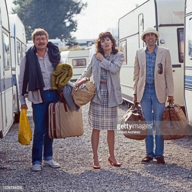 Der Mann, der keine Autos mochte, Fernsehserie, Deutschland 1984, Folge Natur pur, Darsteller: Ralf Schermuly, Iris Berben, Jörg Pleva