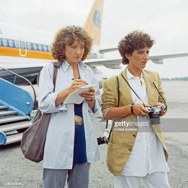 Der Mann, der keine Autos mochte, Fernsehserie, Deutschland 1984, Folge: Aus heiterem Himmel, Darsteller: Barbara Focke, Silvia Reitze