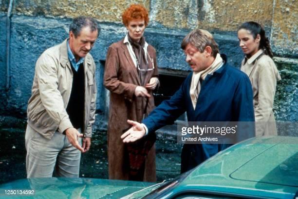 Der Mann der keine Autos mochte, Fernsehserie, Deutschland 1984, Darsteller: Karl Obermayr, Elisabeth Volkmann, Ralf Schermuly, Katherina Jacob.