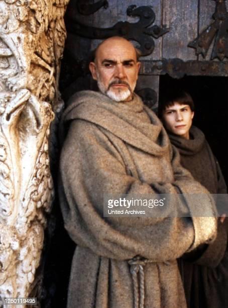 Der Name der Rose, D 1986, Regie: Jean-Jacques Annaud, SEAN CONNERY + CHRISTIAN SLATER, Stichwort: Mönch.
