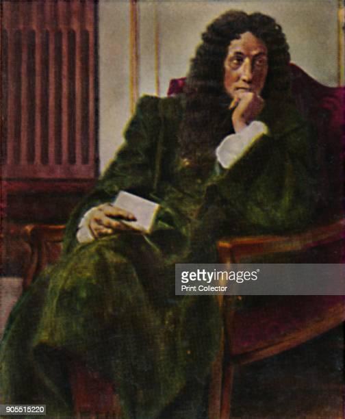 'Der Philosoph Leibniz 1646-1716'. 1934. Gottfried Leibniz , German philosopher and mathematician. From Die Großen der Weltgelchichte....