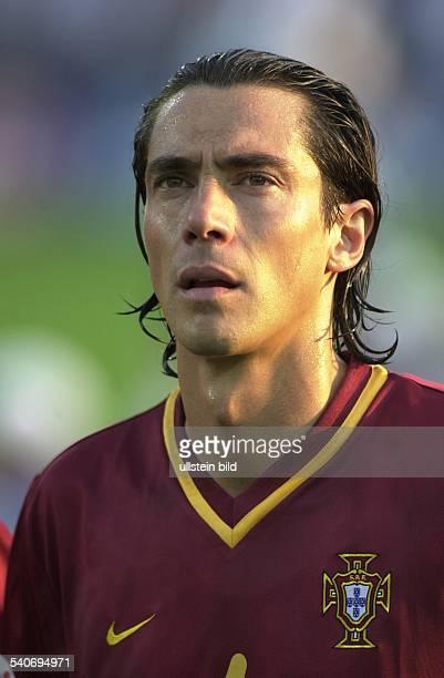 Der portugiesische Nationalspieler Paulo Sousa bei der EM 2000