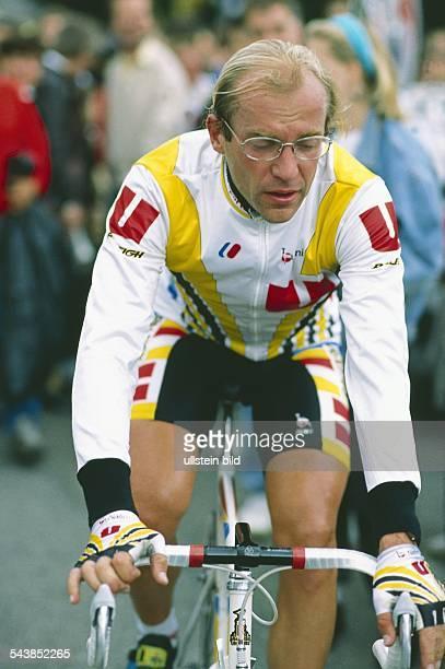 Der Radsportler Laurent Fignon .