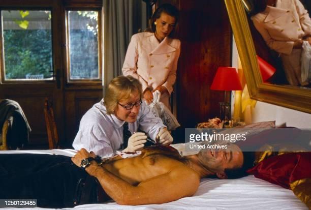 Der Räuber mit der sanften Hand, Fernsehfilm, Deutschland 1995, Regie: Wolfgang Mühlbauer, Darsteller: Hannes Jaenicke , Barbara Rudnik.