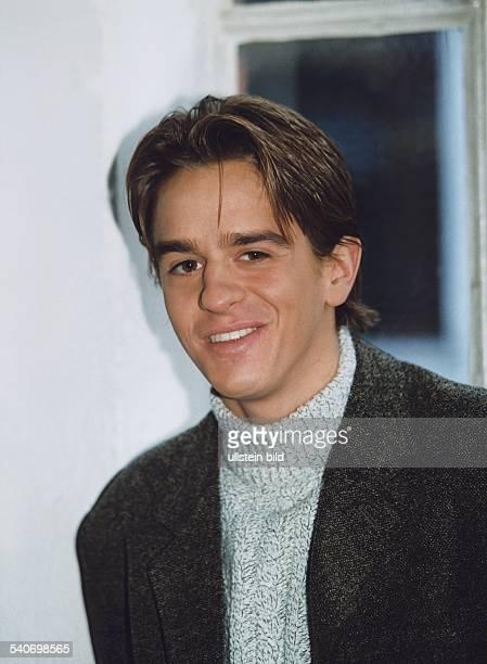 Der Schauspieler Sascha Posch. Er spielt in der ARD Fernsehserie 'Der Fahnder'. Aufgenommen um 1998.