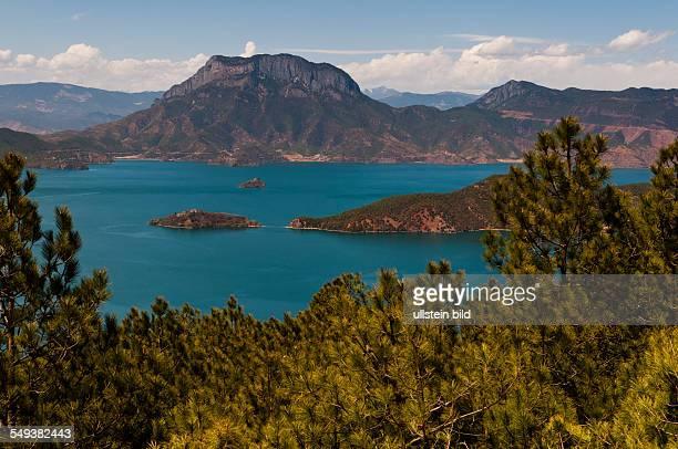 der See Lugu Hu