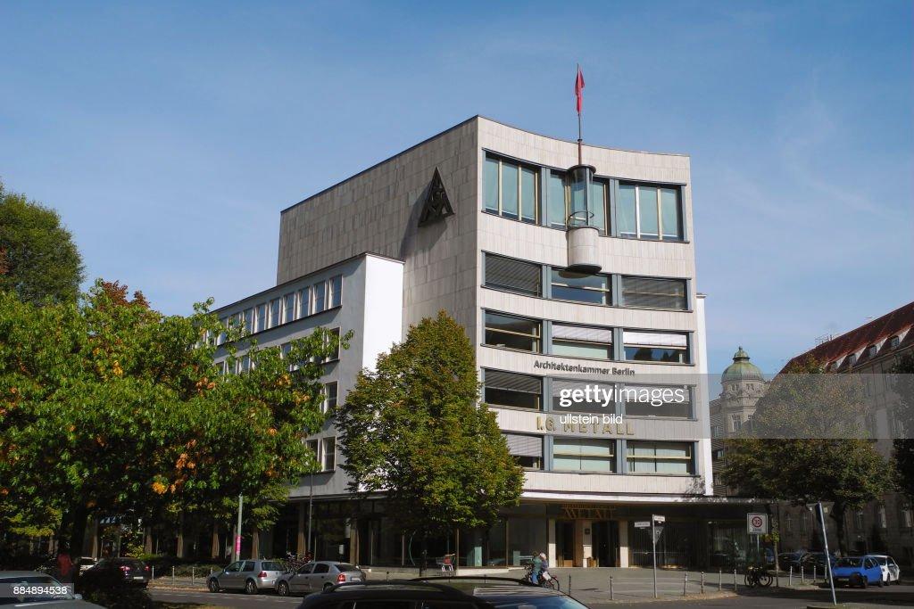 Der Sitz Der Ig Metall Und Der Architektenkammer Berlin An Der