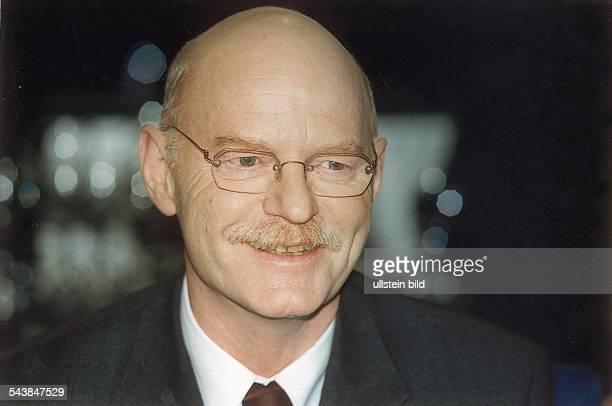 Der SPDFraktionsvorsitzende Peter Struck Aufgenommen November 1998