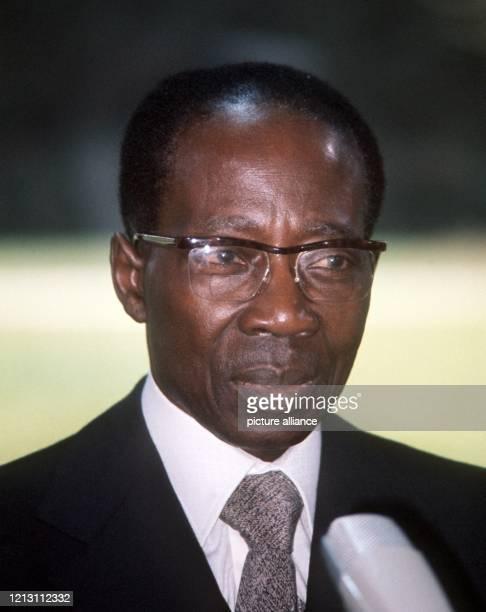 Der Staatspräsident der westafrikanischen Republik Senegal, Leopold Senghor. Aufnahme vom Mai 1977.