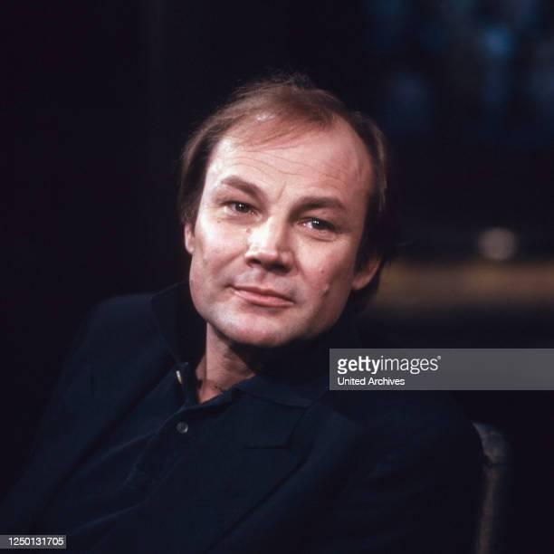 Der österreichische Regisseur und Schauspieler Klaus Maria Brandauer, Deutschland 1980er Jahre.