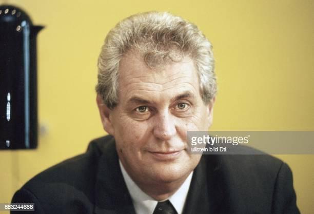 Der tschechische Ministerpräsident Milos Zeman