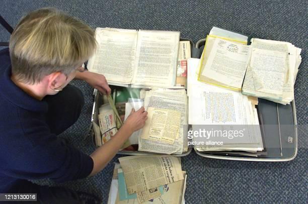 Der umfangreiche schriftliche Nachlass von Oskar Schindler dem Held in dem berühmten SpielbergSpielfilm Schindlers Liste liegt am in der Redaktion...