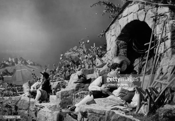 Der Vogelhändler Deutschland 1953 Regie Arthur Maria Rabenalt Darsteller Gerhard Riedmann Ilse Werner