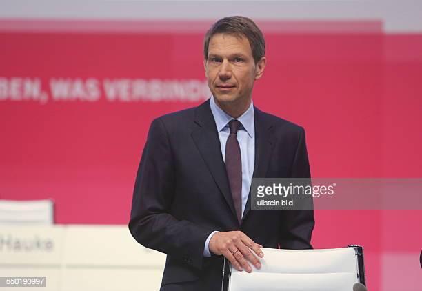 Der Vorstandsvorsitzende Rene Obermann Deutsche Telekom Hauptversammlung Lanxess Arena