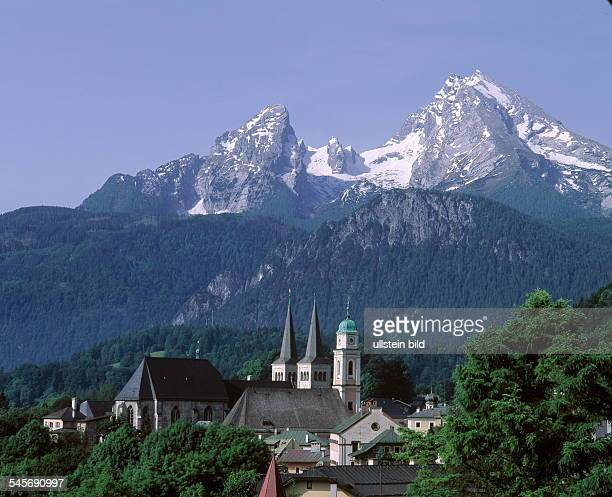 Der `Watzmann' im Berchtesgadener Land 1994
